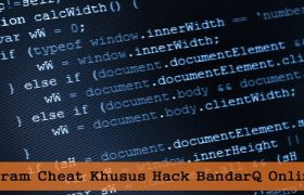 Program Cheat Khusus Hack BandarQ Online