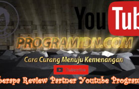 Beberapa Review Partner Youtube Programidn