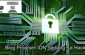 Blog Program IDN Sedang Ke Hack